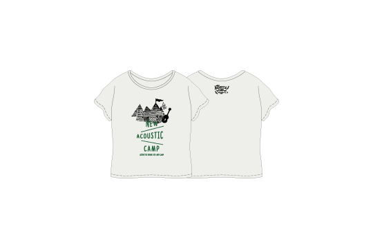"OFFICIAL LADY tee ""TENT"""