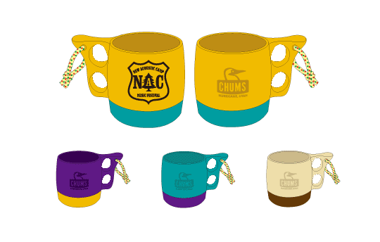 CHUMS × NAC<br />New Acoustic Camper Mug Cup
