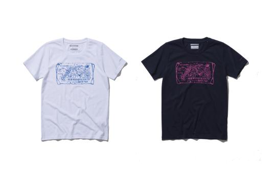 Columbia × NAC<br />ティートンスパイアーウィメンズショートスリーブTシャツ(女性サイズ)