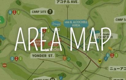 場内マップ詳細公開です!